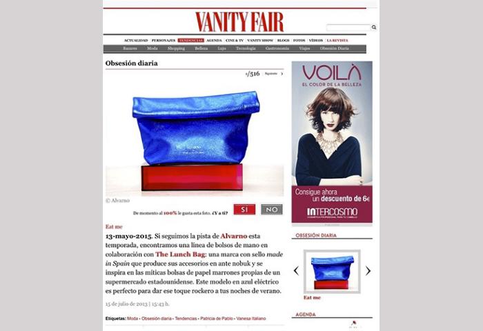 Vanity Fair online