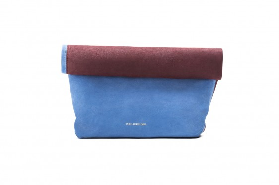 The Lunch Bag: Blue klein The Lunch Bag | Bags > Clutches -  Hiphunters Shop