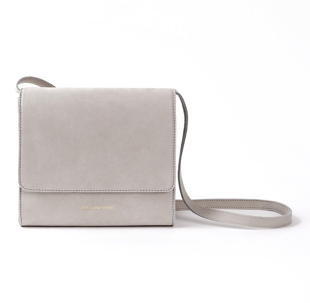 Shoulder bag gris perla